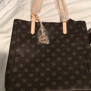 Purse with matching makeup bag and scarf